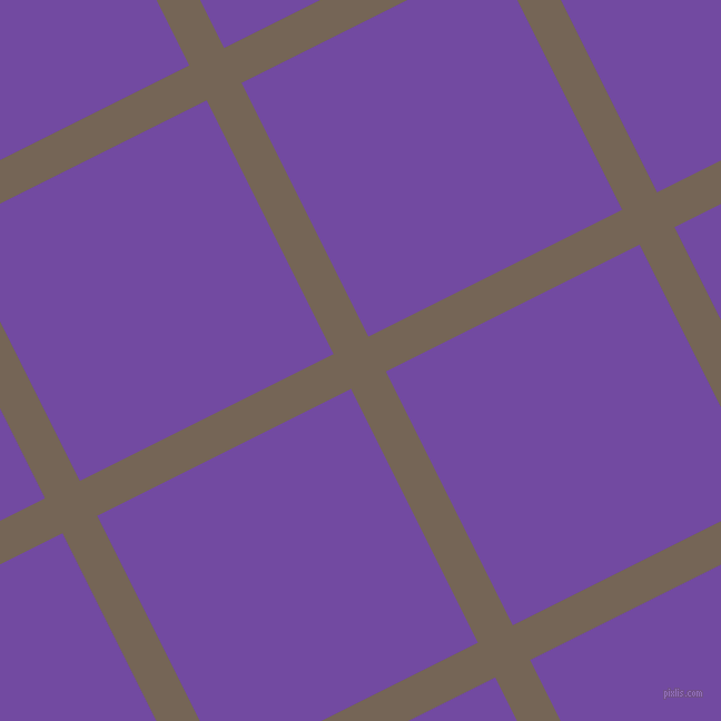 27/117 degree angle diagonal checkered chequered lines, 35 pixel lines width, 255 pixel square size, Pine Cone and Studio plaid checkered seamless tileable