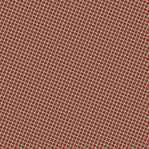 68/158 degree angle diagonal checkered chequered lines, 2 pixel line width, 10 pixel square size, Pixie Green and Tall Poppy plaid checkered seamless tileable
