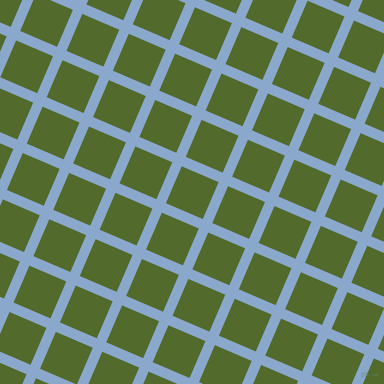67/157 degree angle diagonal checkered chequered lines, 21 pixel line width, 82 pixel square size, Polo Blue and Green Leaf plaid checkered seamless tileable