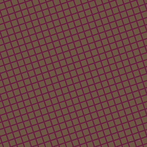 18/108 degree angle diagonal checkered chequered lines, 4 pixel line width, 18 pixel square sizePompadour and Tobacco Brown plaid checkered seamless tileable