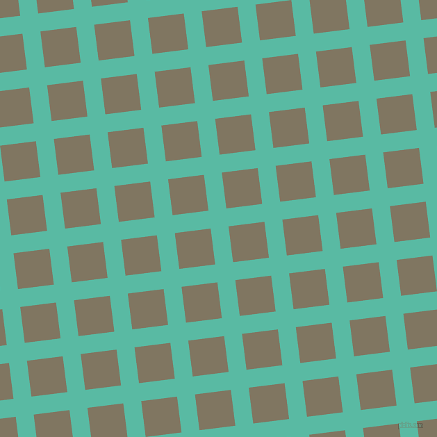 7/97 degree angle diagonal checkered chequered lines, 26 pixel lines width, 52 pixel square size, Puerto Rico and Stonewall plaid checkered seamless tileable