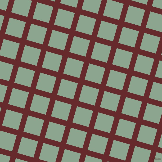 74/164 degree angle diagonal checkered chequered lines, 23 pixel lines width, 71 pixel square size, Red Devil and Envy plaid checkered seamless tileable