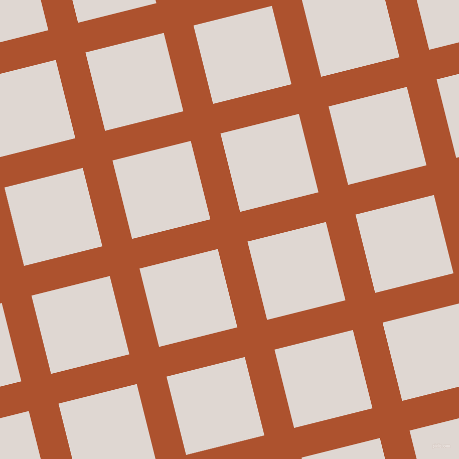 14/104 degree angle diagonal checkered chequered lines, 61 pixel line width, 161 pixel square size, Red Stage and Bon Jour plaid checkered seamless tileable