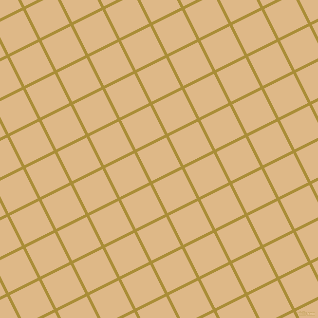 27/117 degree angle diagonal checkered chequered lines, 6 pixel lines width, 67 pixel square size, Reef Gold and Burly Wood plaid checkered seamless tileable
