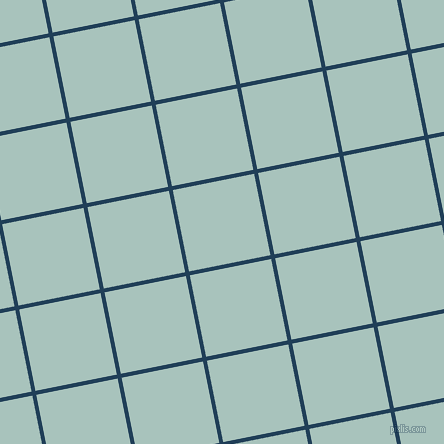 11/101 degree angle diagonal checkered chequered lines, 4 pixel lines width, 83 pixel square size, Regal Blue and Opal plaid checkered seamless tileable