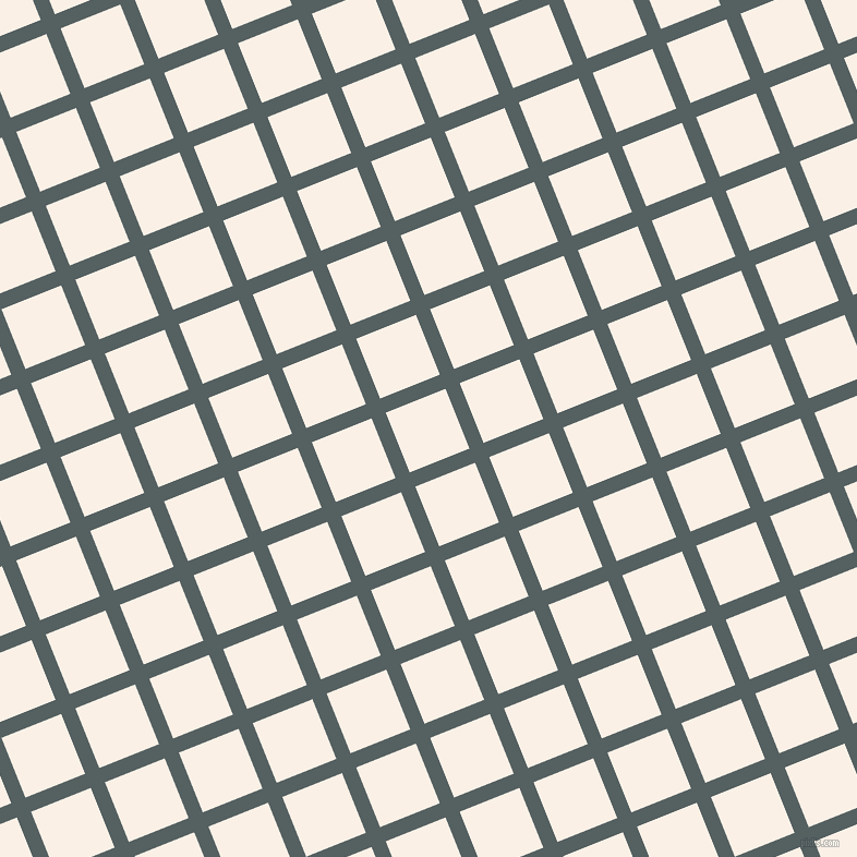 22/112 degree angle diagonal checkered chequered lines, 14 pixel line width, 59 pixel square size, River Bed and Linen plaid checkered seamless tileable