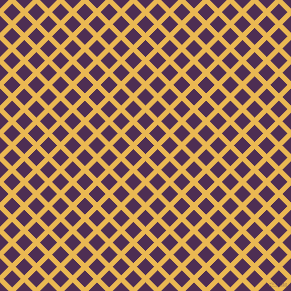 45/135 degree angle diagonal checkered chequered lines, 10 pixel line width, 24 pixel square size, Ronchi and Hot Purple plaid checkered seamless tileable