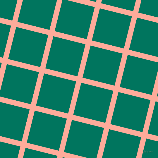 76/166 degree angle diagonal checkered chequered lines, 18 pixel line width, 113 pixel square size, Rose Bud and Tropical Rain Forest plaid checkered seamless tileable
