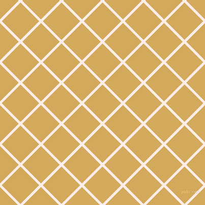 45/135 degree angle diagonal checkered chequered lines, 5 pixel line width, 52 pixel square size, Rose White and Apache plaid checkered seamless tileable