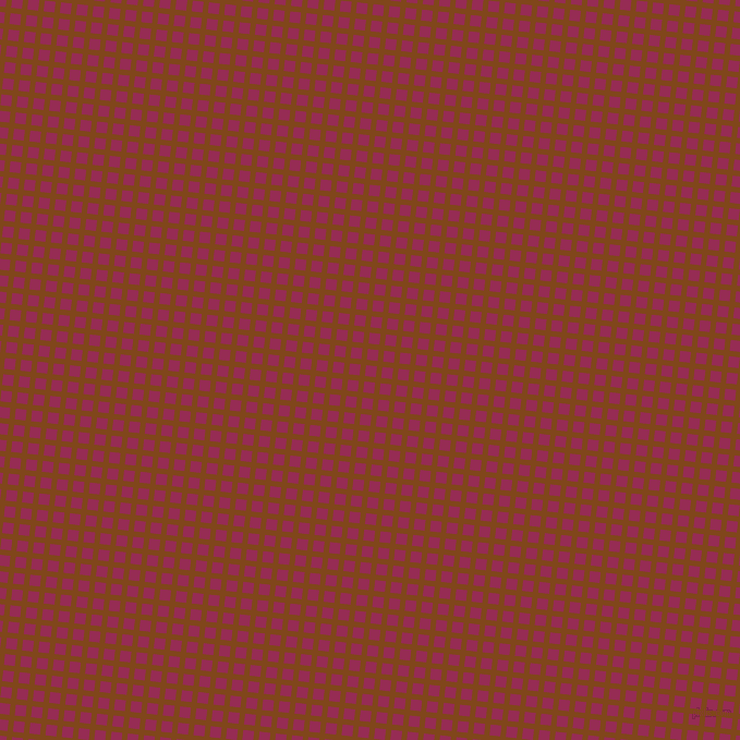 84/174 degree angle diagonal checkered chequered lines, 5 pixel lines width, 10 pixel square size, Russet and Lipstick plaid checkered seamless tileable