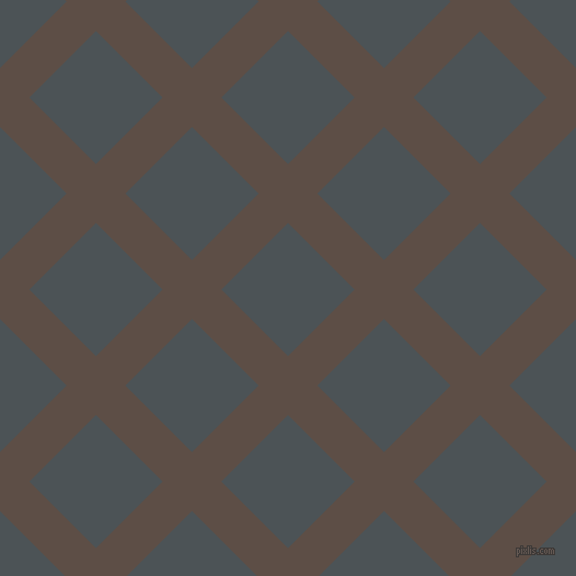45/135 degree angle diagonal checkered chequered lines, 38 pixel lines width, 86 pixel square size, Saddle and Trout plaid checkered seamless tileable
