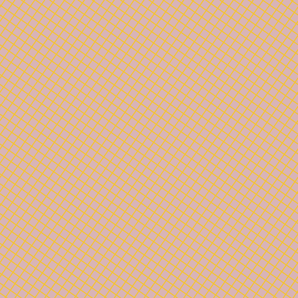 55/145 degree angle diagonal checkered chequered lines, 2 pixel lines width, 14 pixel square size, Saffron and Pink Flare plaid checkered seamless tileable