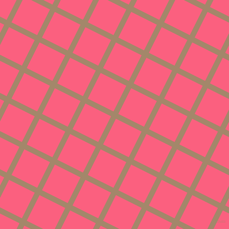 63/153 degree angle diagonal checkered chequered lines, 18 pixel line width, 95 pixel square size, Sandal and Brink Pink plaid checkered seamless tileable