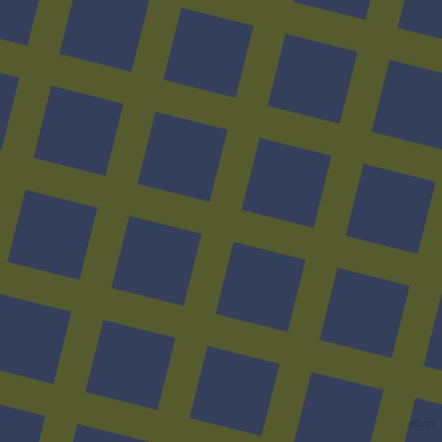 76/166 degree angle diagonal checkered chequered lines, 48 pixel lines width, 108 pixel square size, Saratoga and Gulf Blue plaid checkered seamless tileable
