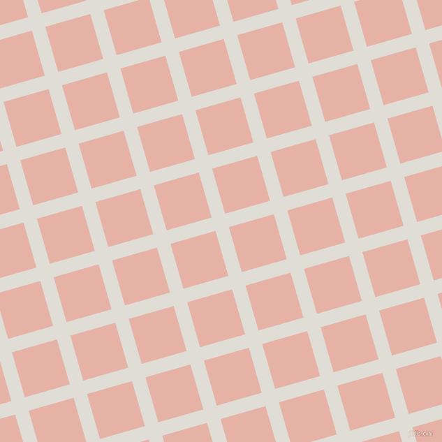 16/106 degree angle diagonal checkered chequered lines, 20 pixel line width, 67 pixel square size, Sea Fog and Shilo plaid checkered seamless tileable
