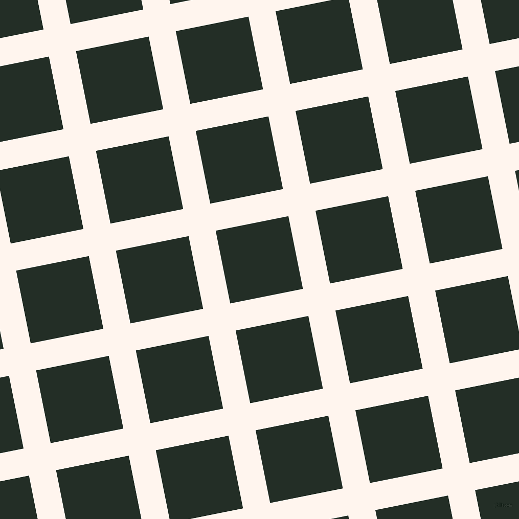 11/101 degree angle diagonal checkered chequered lines, 54 pixel line width, 145 pixel square size, Seashell and Black Bean plaid checkered seamless tileable