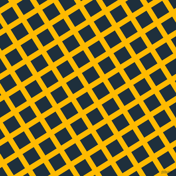 32/122 degree angle diagonal checkered chequered lines, 18 pixel line width, 44 pixel square size, Selective Yellow and Tangaroa plaid checkered seamless tileable