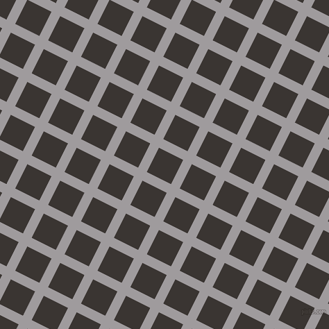 63/153 degree angle diagonal checkered chequered lines, 14 pixel lines width, 39 pixel square size, Shady Lady and Kilamanjaro plaid checkered seamless tileable