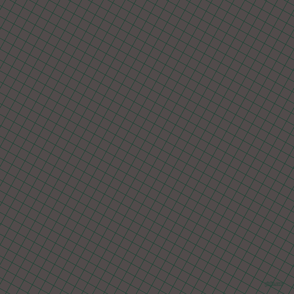 61/151 degree angle diagonal checkered chequered lines, 1 pixel line width, 18 pixel square size, Sherwood Green and Matterhorn plaid checkered seamless tileable