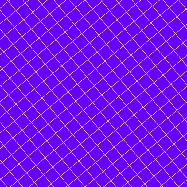 40/130 degree angle diagonal checkered chequered lines, 2 pixel line width, 37 pixel square size, Shilo and Electric Indigo plaid checkered seamless tileable