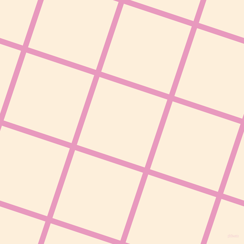 72/162 degree angle diagonal checkered chequered lines, 18 pixel lines width, 233 pixel square size, Shocking and Forget Me Not plaid checkered seamless tileable