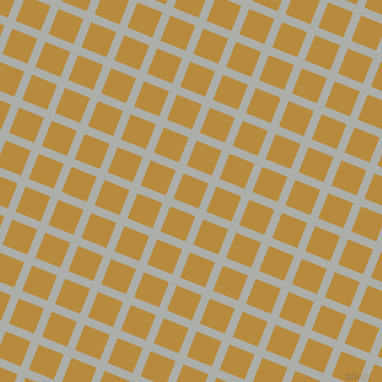 68/158 degree angle diagonal checkered chequered lines, 12 pixel lines width, 38 pixel square size, Silver Chalice and Marigold plaid checkered seamless tileable