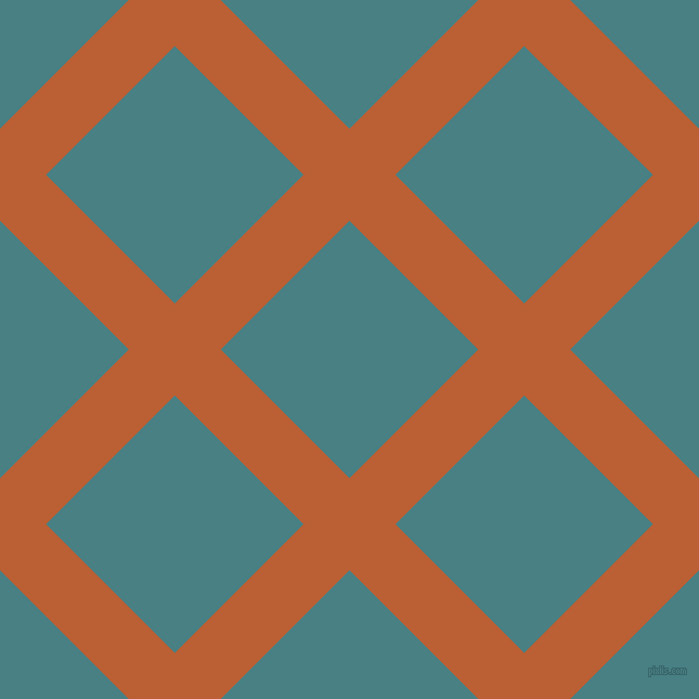 45/135 degree angle diagonal checkered chequered lines, 60 pixel lines width, 168 pixel square size, Smoke Tree and Paradiso plaid checkered seamless tileable