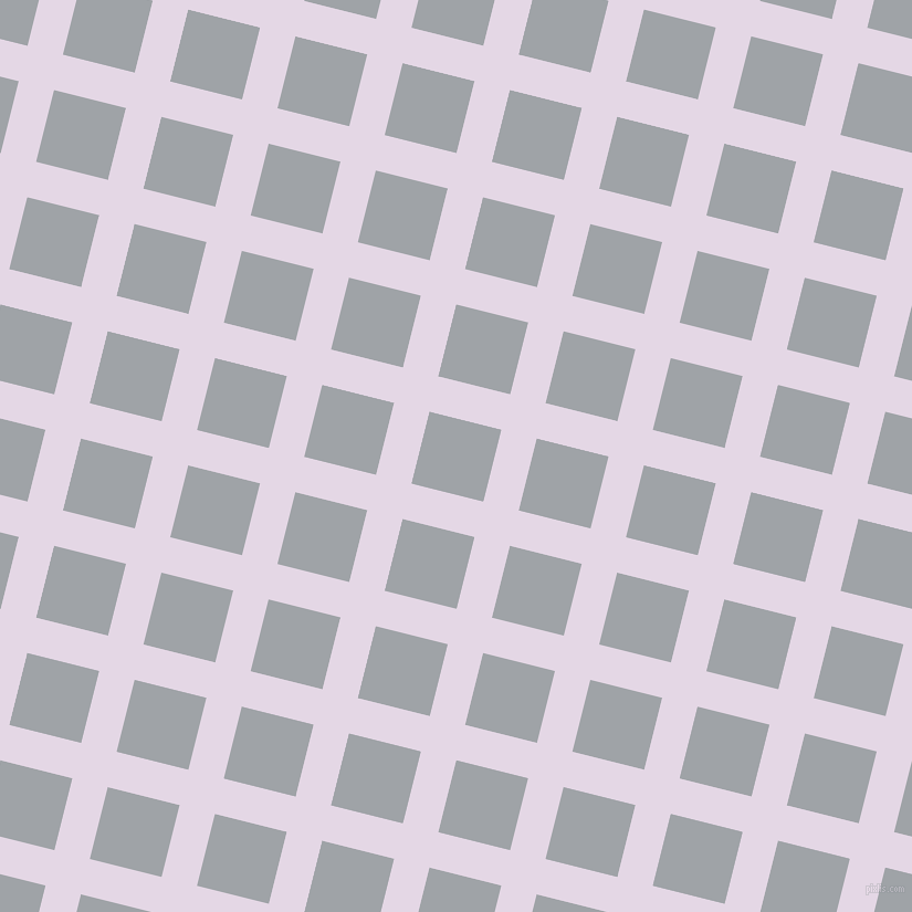 76/166 degree angle diagonal checkered chequered lines, 33 pixel lines width, 67 pixel square size, Snuff and Grey Chateau plaid checkered seamless tileable