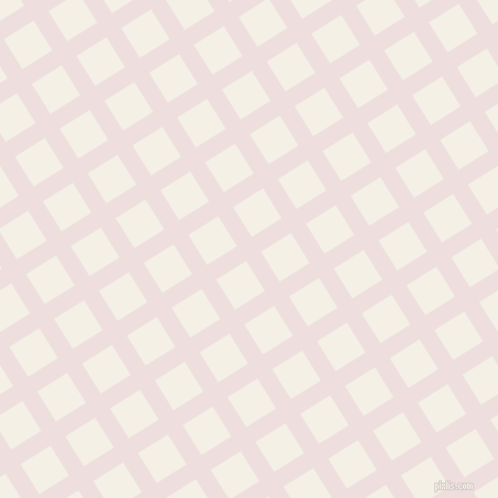 32/122 degree angle diagonal checkered chequered lines, 16 pixel line width, 32 pixel square size, Soft Peach and Romance plaid checkered seamless tileable