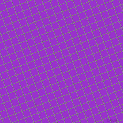 21/111 degree angle diagonal checkered chequered lines, 2 pixel line width, 23 pixel square size, Spanish Green and Dark Orchid plaid checkered seamless tileable