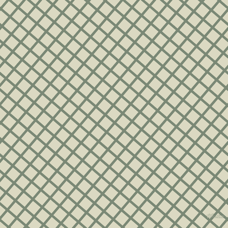 49/139 degree angle diagonal checkered chequered lines, 5 pixel line width, 20 pixel square size, Spanish Green and Loafer plaid checkered seamless tileable