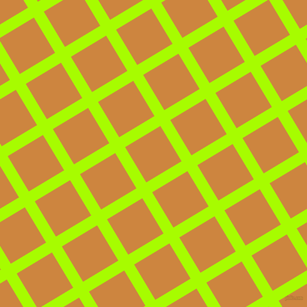 31/121 degree angle diagonal checkered chequered lines, 23 pixel line width, 82 pixel square size, Spring Bud and Peru plaid checkered seamless tileable