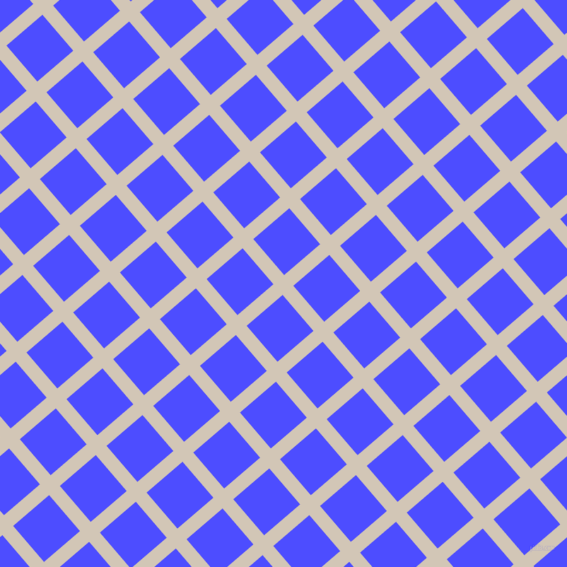 41/131 degree angle diagonal checkered chequered lines, 20 pixel lines width, 67 pixel square size, Stark White and Neon Blue plaid checkered seamless tileable