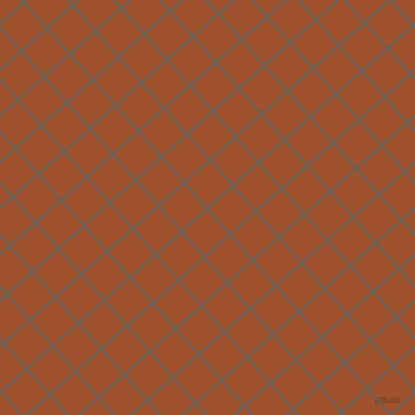 42/132 degree angle diagonal checkered chequered lines, 3 pixel lines width, 46 pixel square size, Storm Dust and Sienna plaid checkered seamless tileable