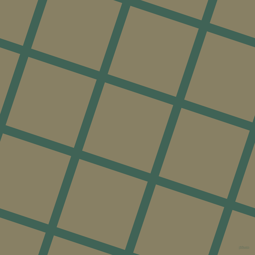 72/162 degree angle diagonal checkered chequered lines, 30 pixel lines width, 250 pixel square size, Stromboli and Olive Haze plaid checkered seamless tileable