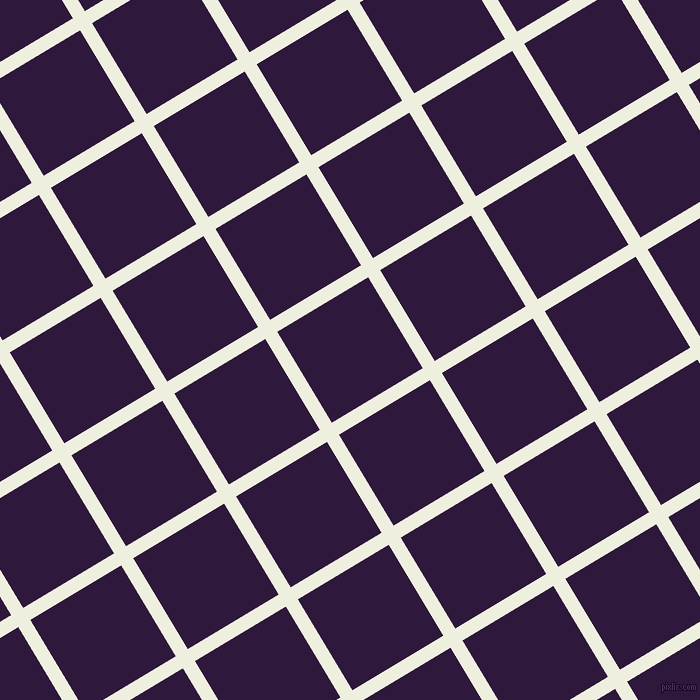 31/121 degree angle diagonal checkered chequered lines, 14 pixel lines width, 106 pixel square size, Sugar Cane and Blackcurrant plaid checkered seamless tileable