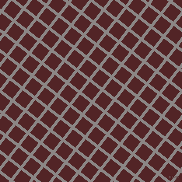 52/142 degree angle diagonal checkered chequered lines, 10 pixel lines width, 44 pixel square size, Suva Grey and Lonestar plaid checkered seamless tileable