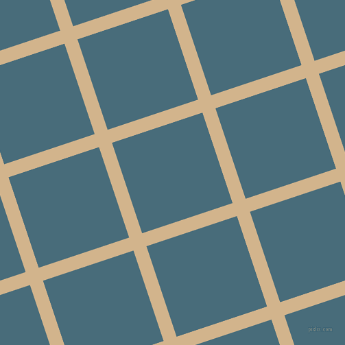 18/108 degree angle diagonal checkered chequered lines, 20 pixel lines width, 139 pixel square size, Tan and Bismark plaid checkered seamless tileable