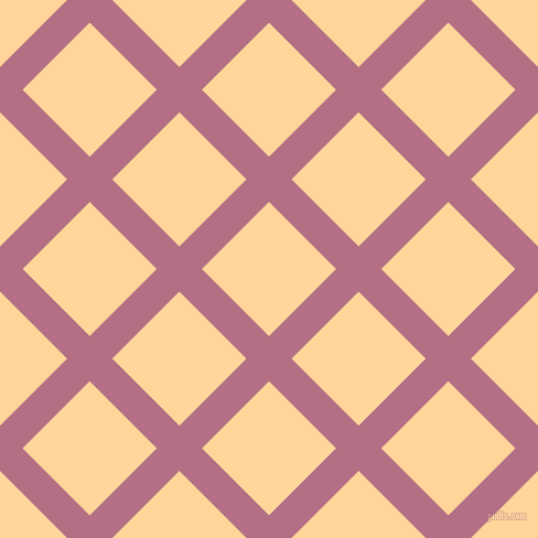 45/135 degree angle diagonal checkered chequered lines, 29 pixel lines width, 86 pixel square sizeTapestry and Caramel plaid checkered seamless tileable