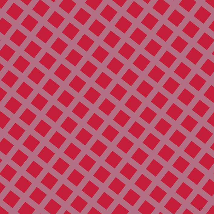 52/142 degree angle diagonal checkered chequered lines, 20 pixel line width, 42 pixel square size, Tapestry and Cardinal plaid checkered seamless tileable