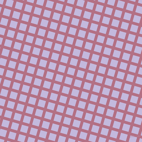 74/164 degree angle diagonal checkered chequered lines, 10 pixel line width, 24 pixel square size, Tapestry and Melrose plaid checkered seamless tileable