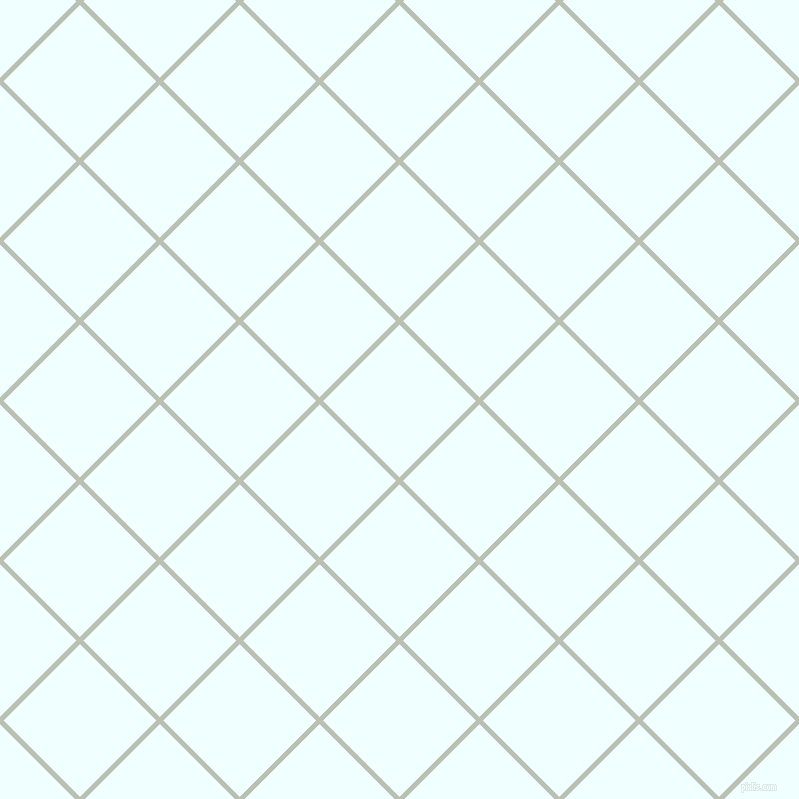 45/135 degree angle diagonal checkered chequered lines, 5 pixel line width, 108 pixel square size, Tasman and Azure plaid checkered seamless tileable