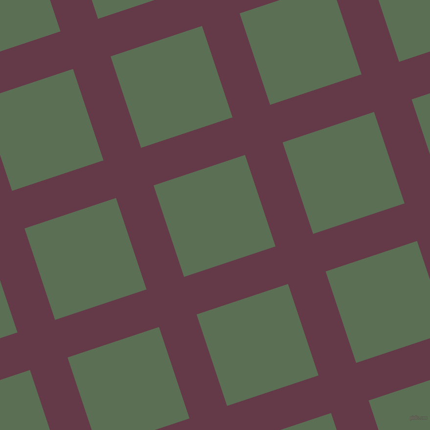 18/108 degree angle diagonal checkered chequered lines, 81 pixel lines width, 197 pixel square size, Tawny Port and Cactus plaid checkered seamless tileable