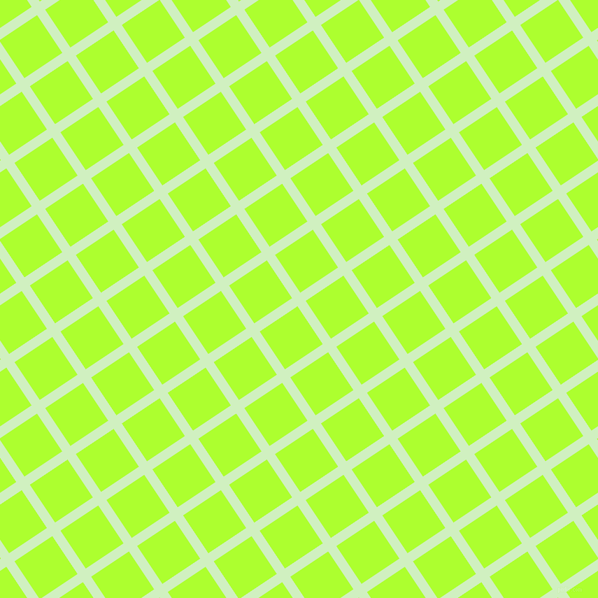 34/124 degree angle diagonal checkered chequered lines, 14 pixel line width, 65 pixel square size, Tea Green and Green Yellow plaid checkered seamless tileable