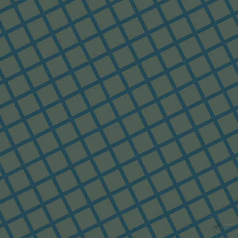 27/117 degree angle diagonal checkered chequered lines, 8 pixel line width, 36 pixel square size, Teal Blue and Feldgrau plaid checkered seamless tileable