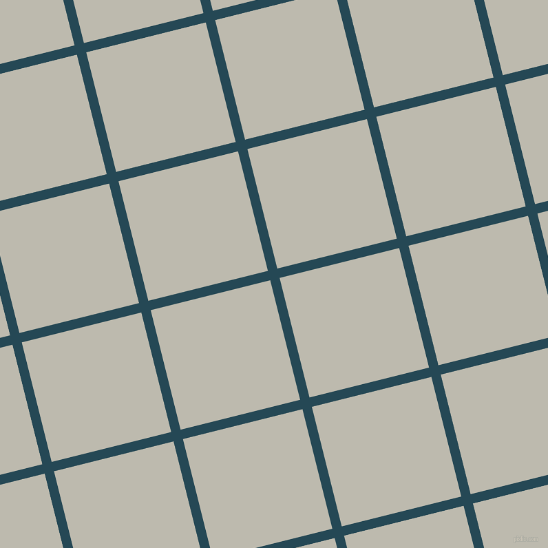 14/104 degree angle diagonal checkered chequered lines, 14 pixel line width, 179 pixel square size, Teal Blue and Grey Nickel plaid checkered seamless tileable