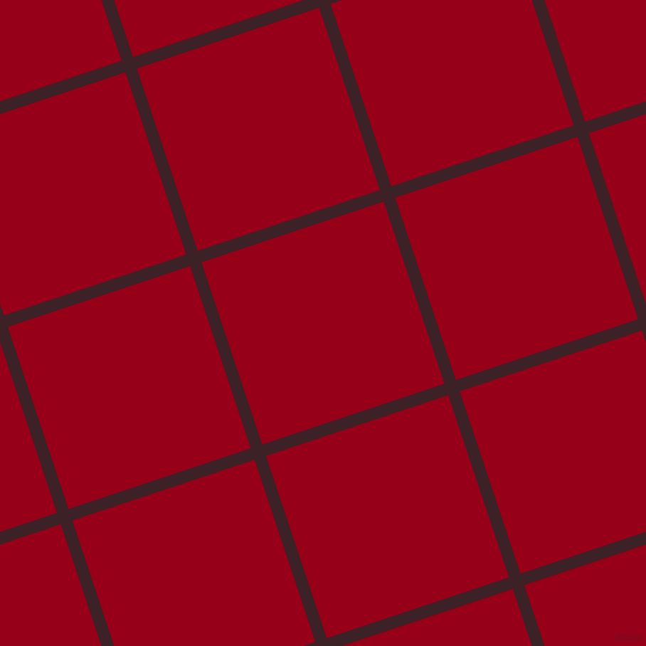 18/108 degree angle diagonal checkered chequered lines, 17 pixel lines width, 270 pixel square size, Temptress and Carmine plaid checkered seamless tileable