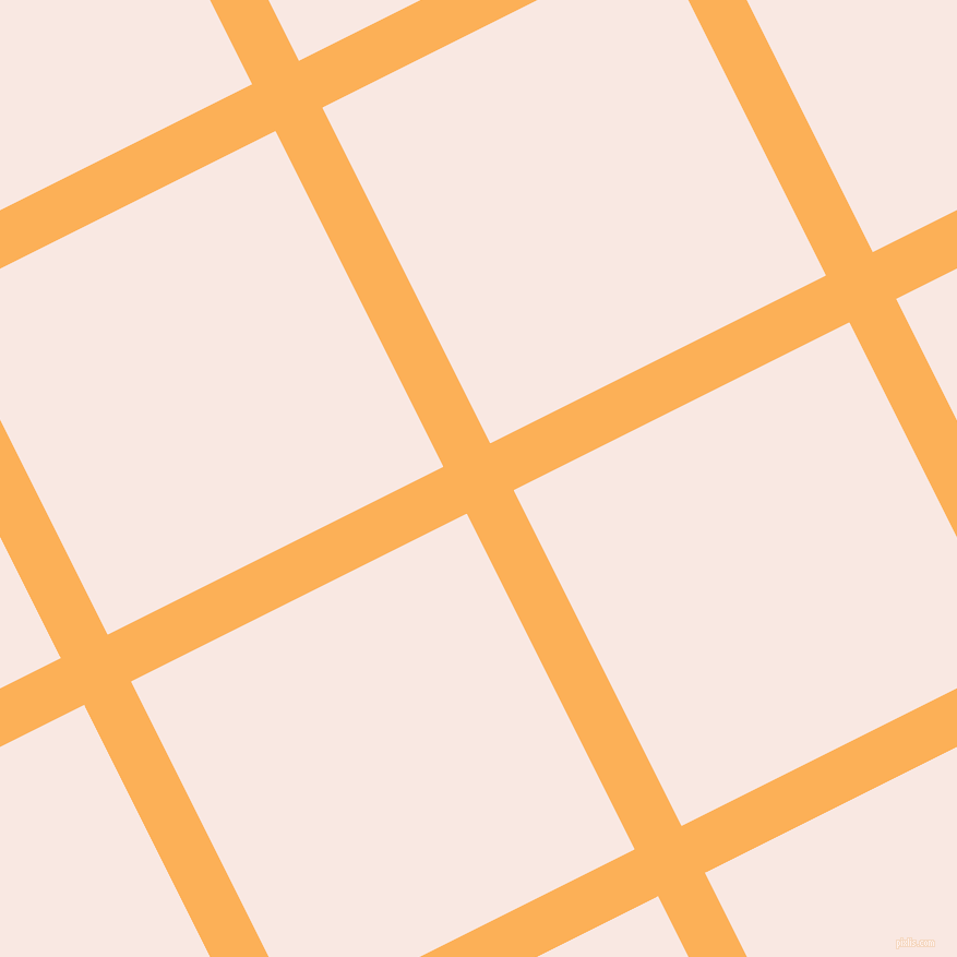 27/117 degree angle diagonal checkered chequered lines, 48 pixel line width, 344 pixel square size, Texas Rose and Wisp Pink plaid checkered seamless tileable
