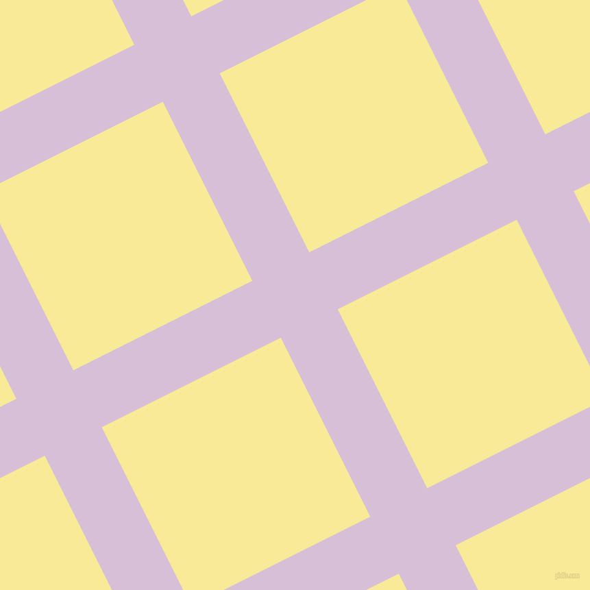 27/117 degree angle diagonal checkered chequered lines, 93 pixel lines width, 292 pixel square size, Thistle and Picasso plaid checkered seamless tileable