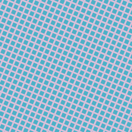 67/157 degree angle diagonal checkered chequered lines, 6 pixel line width, 14 pixel square size, Thistle and Viking plaid checkered seamless tileable